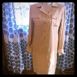 NWT Vintage William Pearson Button Up Dress Size 8